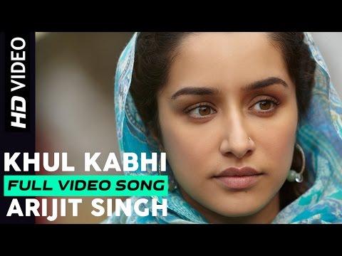 Khul Kabhi | Arijit Singh | Haider | Music by Vishal Bhardwaj | Shahid Kapoor