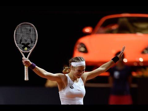 2016 Porsche Tennis Grand Prix Semifinal | Laura Siegemund vs Agnieszka Radwanska | WTA Highlights