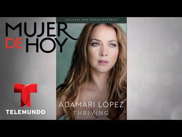 """iVillage Mujer de Hoy / Adamari López nos habla de """"Thriving"""" / Telemundo"""