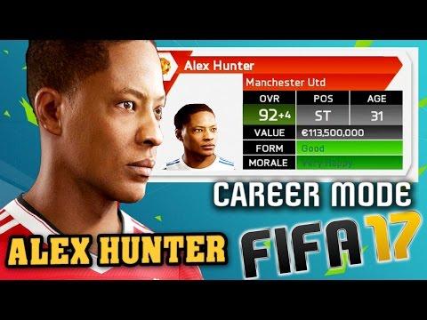 ALEX HUNTER in Career Mode!!! (FIFA 17 STORY MODE) FIFA 16 (2015-2030)