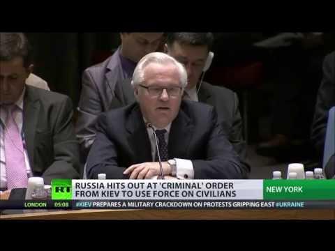 'Intl community must demand that Kiev stop war on own citizens' - Russian envoy to UN