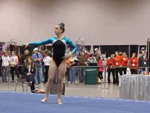 Shani Remme ~ 2013 National Championships   FLOOR Jr C