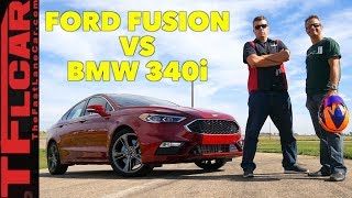 Is the Ford Fusion Sport Faster Than a BMW?