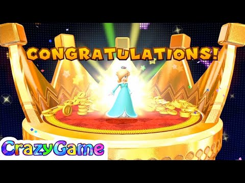 Mario Party 10 Coin Challenge - Mario vs Toad vs Toadette vs Rosalina Gameplay (2 Player)