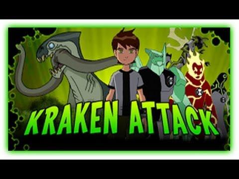 Ben 10 - Krakken Attack - Ben 10 Games