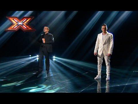 Витольд Петровский и Александр Пономарёв - Я люблю тільки тебе. Х-фактор 7. Четвертый прямой эфир
