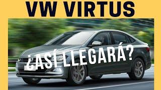 VW Virtus 2019 | ¿Así llegará a México? | Motoren Mx Noticias
