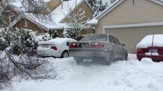 Toyota Corolla diesel AWD snow 2
