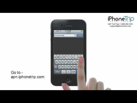 How to connect iPhone 4 & 4S to WIFi and change APN settings