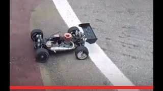 RC Modellismo Caserta - RC Buggy Losi 8ight nitro fa off road in un circuito da on road