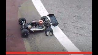 RC Modellismo Caserta - RC Buggy Losi 8ight nitro fa off road in un circuito da on road
