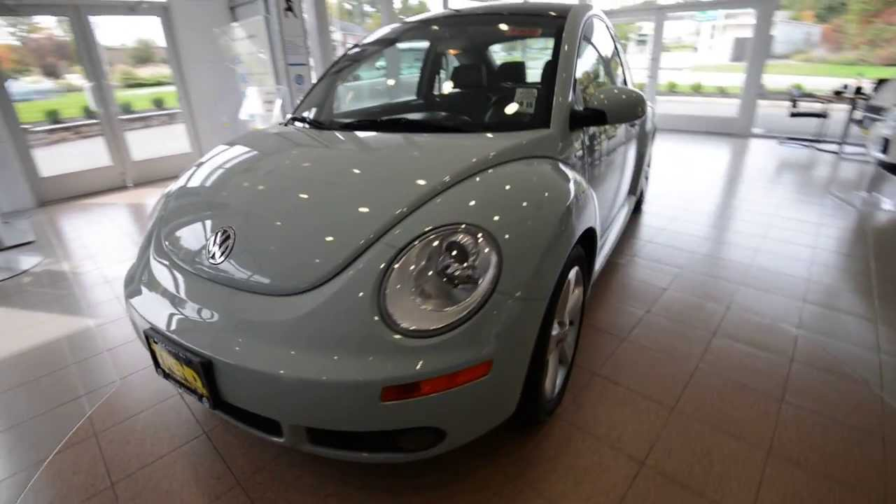 2010 Volkswagen New Beetle Coupe Final Edition Stk P2835