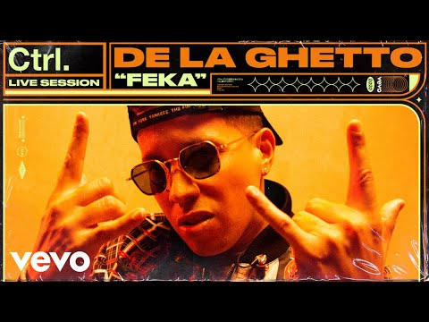 De La Ghetto - FEKA (Live Session) | Vevo Ctrl