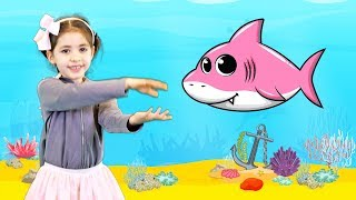 Catalina Baby Shark | Kid Songs and Nursery Rhymes (videoclip)