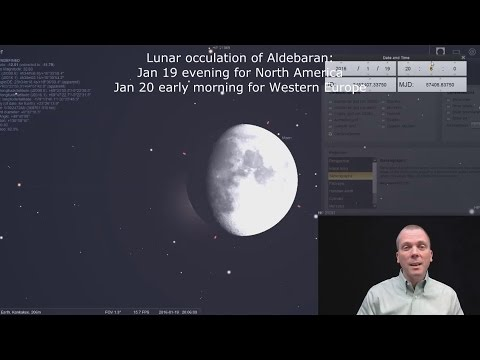 Eyes on the Sky: Moon occults Aldebaran; see Comet Catalina