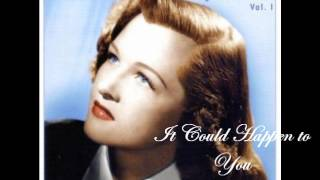 Watch Jo Stafford It Could Happen To You video