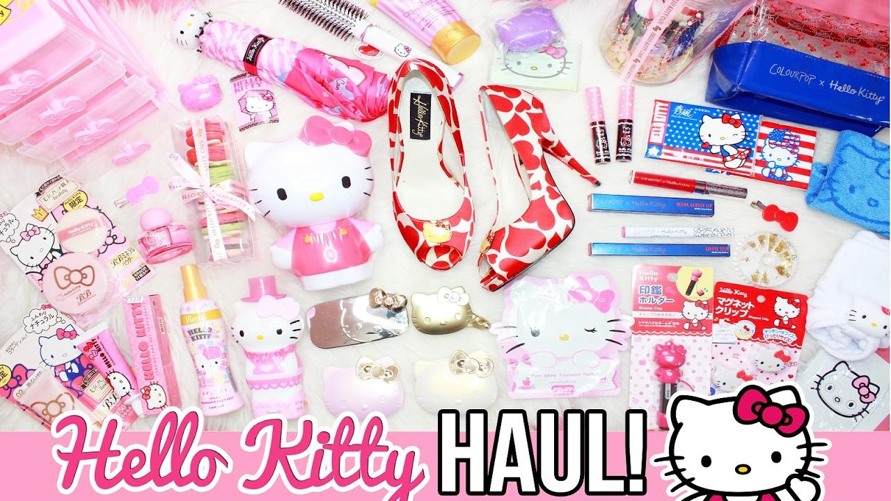 HELLO KITTY GIFT HAUL!! ♥  | RealAsianBeauty