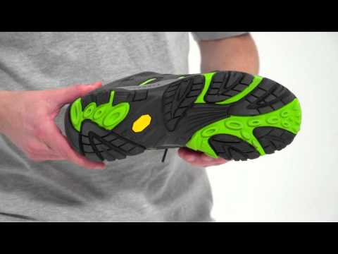 Video: Men's Moab Ventilator Hiking Shoe