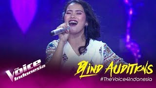 Vionita - Prahara Cinta | Blind Auditions | The Voice Indonesia GTV 2019
