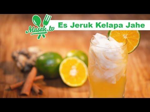 Es Jeruk Kelapa Jahe | Minuman #094