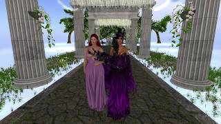 Adian & Terra Second Life Wedding - 6.4.17