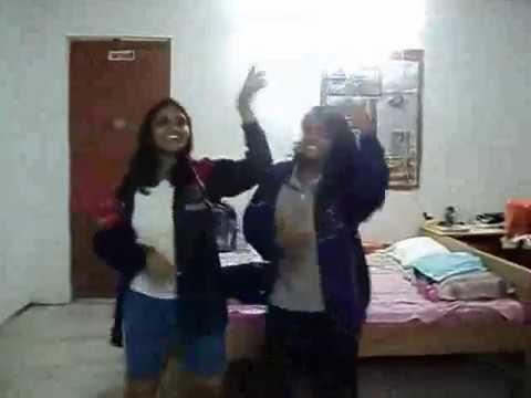 Hot Desi Girl Sexy Dance In Hostel-1 2 video