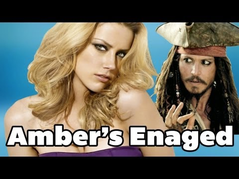 Johnny Depp Engaged to Lesbian Amber Heard | DAILY REHASH | Ora TV