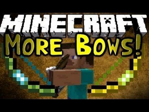 скачать more bows mod для minecraft 1.5.2