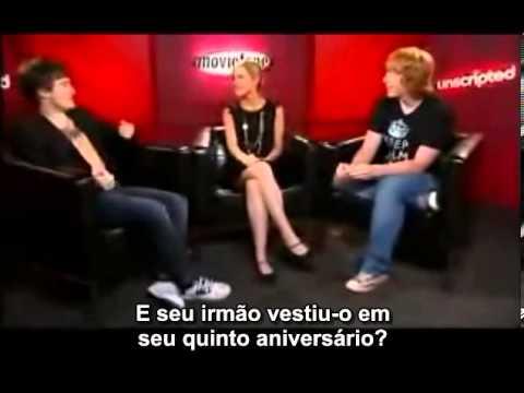 Daniel Radcliffe, Rupert Grint e Emma Watson: Unscripted (2007) - LEGENDADO