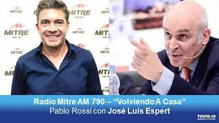 Jose Luis Espert con Pablo Rossi por Radio Mitre   140619