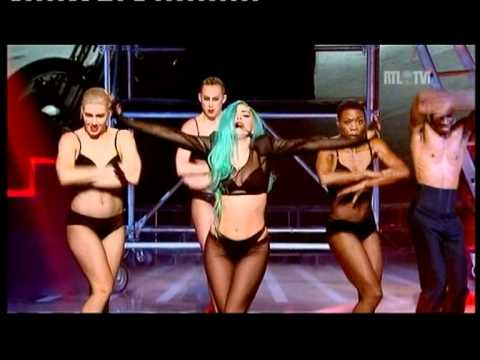 Lady Gaga - The Edge of Glory - judas Live in Paris X factor Music Videos