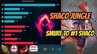 Shaco Jungle Smurf to #1 Shaco [League of Legends] Full Gameplay - Infernal Shaco