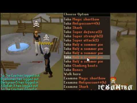 #Loonytunes PK Video 1 Swiftirc Channel Runescape/Pvp/Bounty Hunter Hybriding/tank