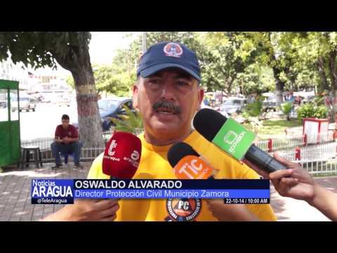 Municipio Zamora sin afectaciones tras recientes precipitaciones 22-10-2014