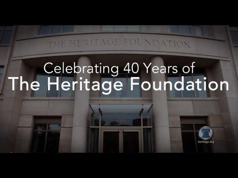 Celebrating 40 Years of The Heritage Foundation