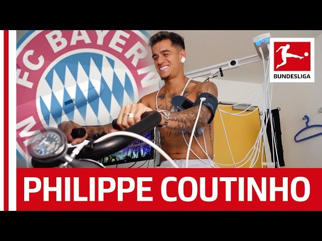 Philippe Coutinho39s First Day at FC Bayern MГnchen