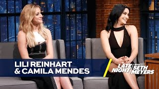 Lili Reinhart and Camila Mendes Remix Riverdale as Betty and Veronica