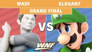 WNF 1.10 - WaDi (Wii Fit Trainer) vs  Elegant (Luigi) Grand Finals - Smash Ultimate