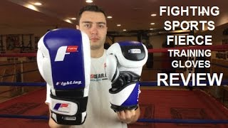 FIGHTING SPORTS S2 GEL FIERCE BOXING GLOVES  REVIEW BY RATETHISGEAR