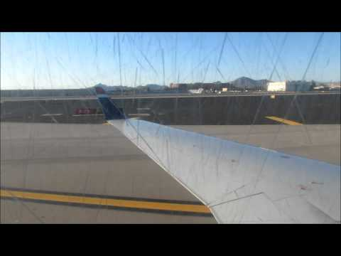 US Airways Express CRJ-200 Great Landing in Pheonix Sky Harbor Intl