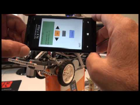 NXT Pilot: Remote Control For NXT Robot With Windows Phone 8