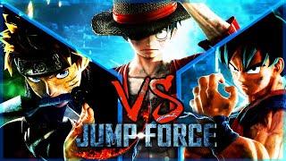 GOKU VS NARUTO VS LUFFY - JUMP FORCE