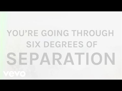 The Script - Six Degrees Of Separation (Lyric Video)