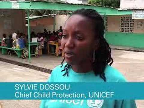 UNICEF and ECHO reintegrate child soldiers in Côte d'Ivoire,