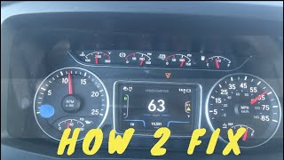 2018 international pro star LT cruise control repair fix