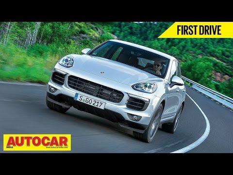 2014 Porsche Cayenne | First Drive Video Review | Autocar India