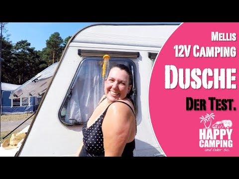 HAPPY CAMPING | Mellis 12V Camping Dusche