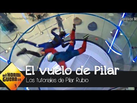 Pilar Rubio consigue volar como un pajarillo  - El Hormiguero 3.0