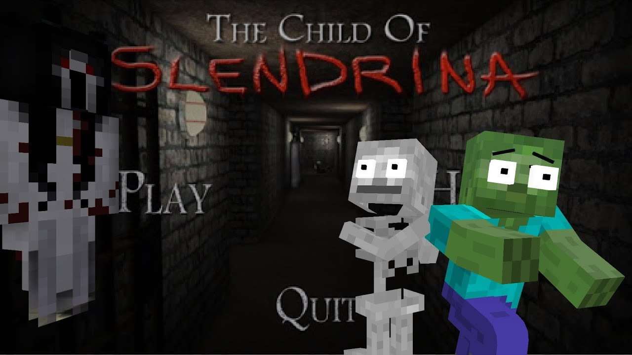 Monster School : SUPER SCARY SLENDRINA The Cellar CHALLENGE - Minecraft Animation