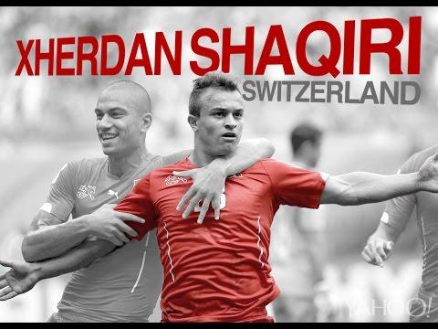 3 GOALS ! Xherdan Shaqiri vs Honduras #WorldCup2014